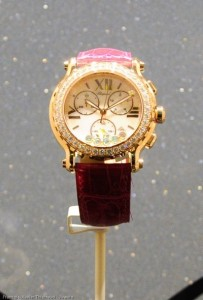Baselworld-2013-Uhr mit Diamant