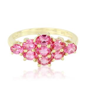 Spinell-Gelbgoldring bei Juwelo, Ihrem Online-Juwelier.