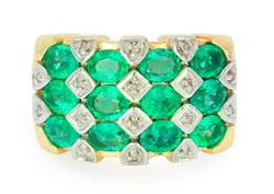 AAA-Sambia-Smaragd-Goldring