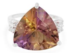 Kaleidoskop-Ametrin-Silberring