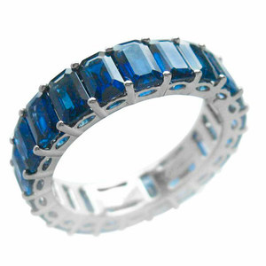 Eternity Ring mit Burmesischen Saphiren