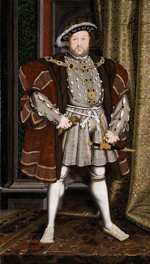 Porträt Heinrichs VIII. nach Hans Holbein d. J., 1536–1537