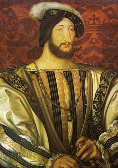 Franz I. von Frankreich von Jean Clouet