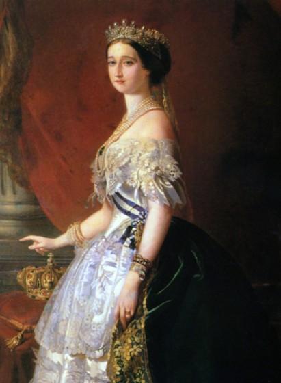 Kaiserin Eugénie -1853 - Franz Xaver Winterhalter