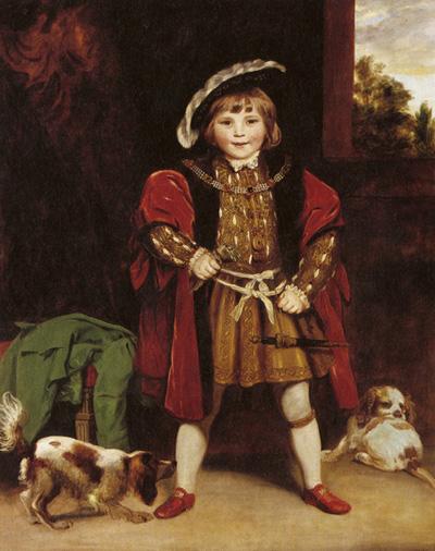 Master Crewe von Joshua Reynolds