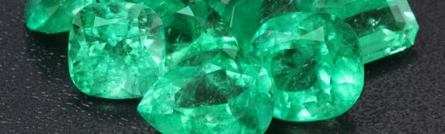 Kolumbianische Smaragde