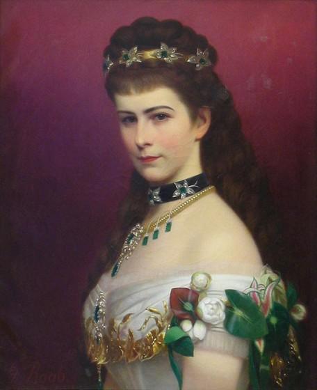 Portrait der Kaiserin von Georg Raab