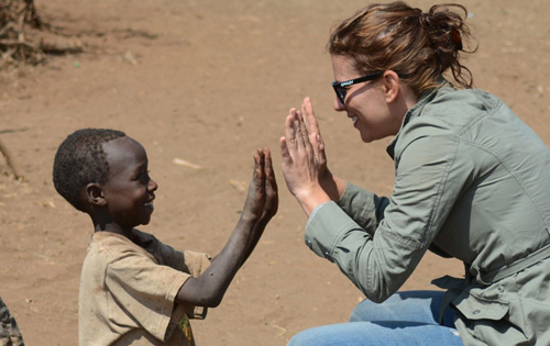 Kat in Tansania