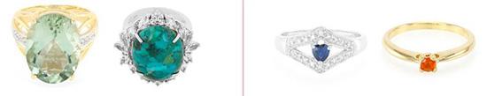 Bevor Sie einen Ring bestellen, finden Sie die passende Ringgröße heraus. Aber wählen Sie die Größe des Steins entsprechend der Persönlichkeit und des Alters des Trägers aus. (im Bild links: Damenringe; im Bild rechts: Ringe für junge Frauen oder Mädchen)