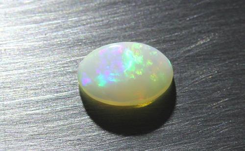 Weißer Opal aus Coober Pedy