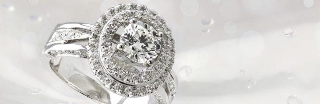 Diamant-Goldring