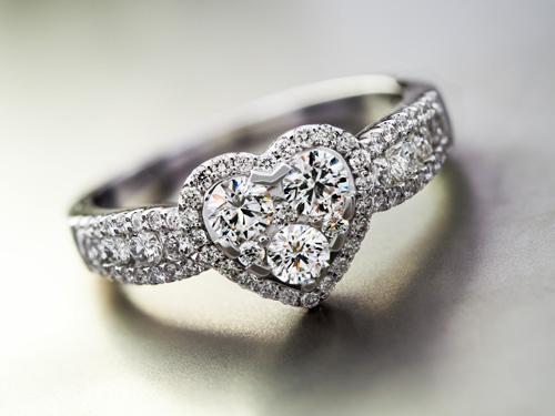 Diamantring der Annette-Kollektion