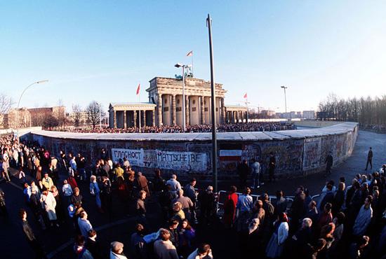 1989: am Brandenburger Tor