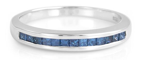Blauer-Diamant-Silberring