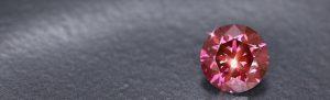Pinkfarbener Diamant