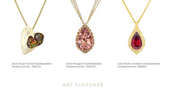 Weitere wundervolle Schmuckstücke der Kat Florence-Kollektion