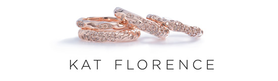 kombinierbare Roségoldringe mit Pinkfarbenen Champagne F Diamanten