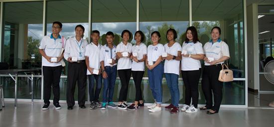 Die Jugendliche aus dem SOS-Kinderdorf Bangpoo, Thailand