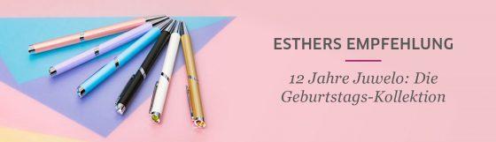Schauen Sie sich Esthers Geburtstagsempfehlungen an
