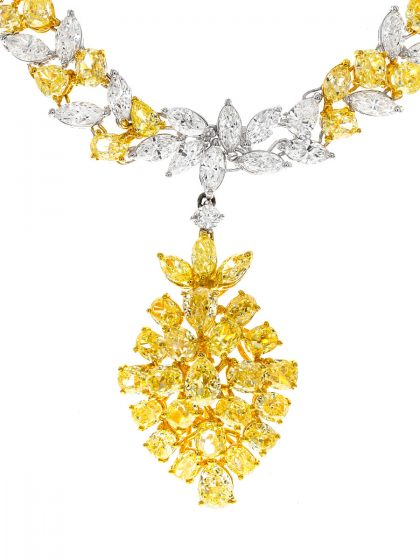 Atemberaubendes Diamant -Collier von CIRARI
