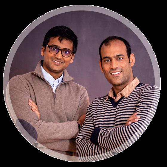 Prashant und Ritesh