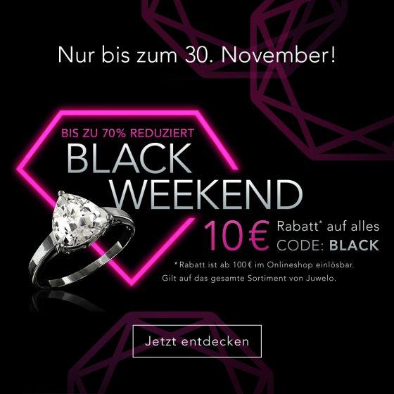 Black Weekend bei Juwelo