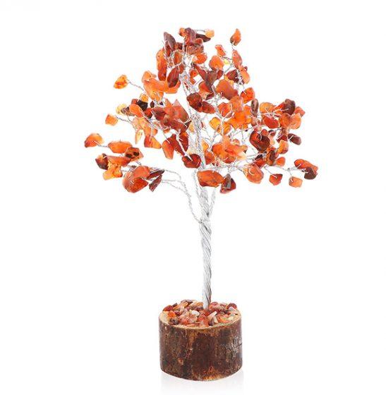 Karneol-Baum zur Dekoration