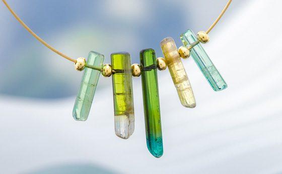 Halskette aus der Vitale Minerale-Kollektion