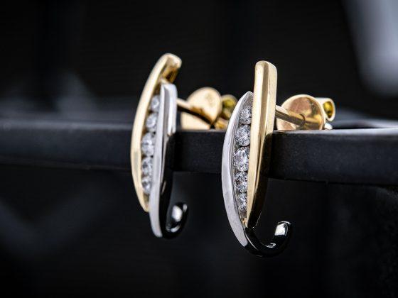 Brillant-Ohrringe der Lucent Diamond-Kollektion
