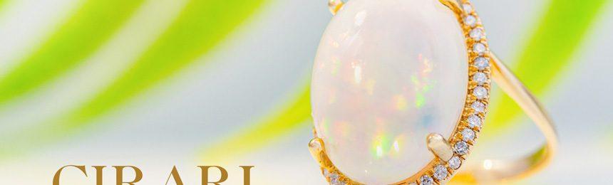 Opal-Goldring CIRARI